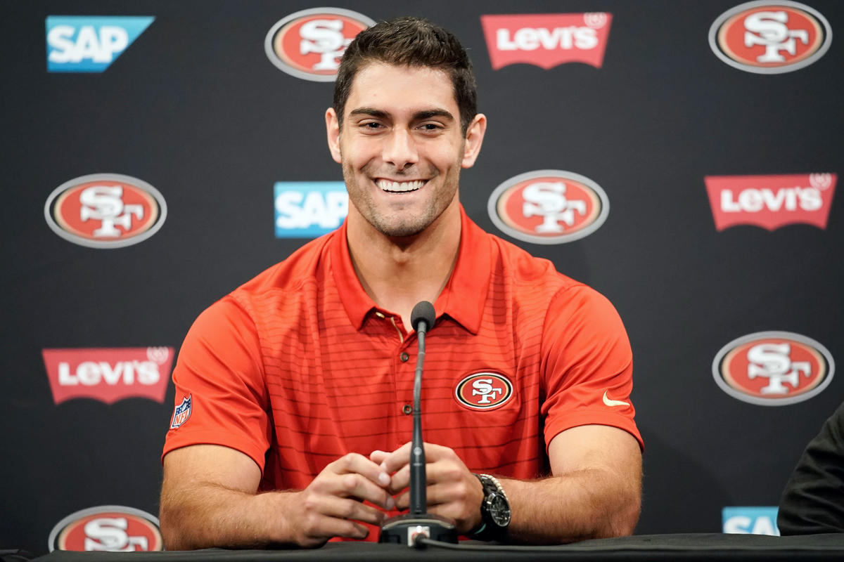 NFL: San Francisco 49ers-Jimmy Garoppolo Press Conference