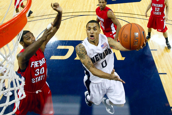 NCAA BASKETBALL: FEB 17 Fresno State at Nevada