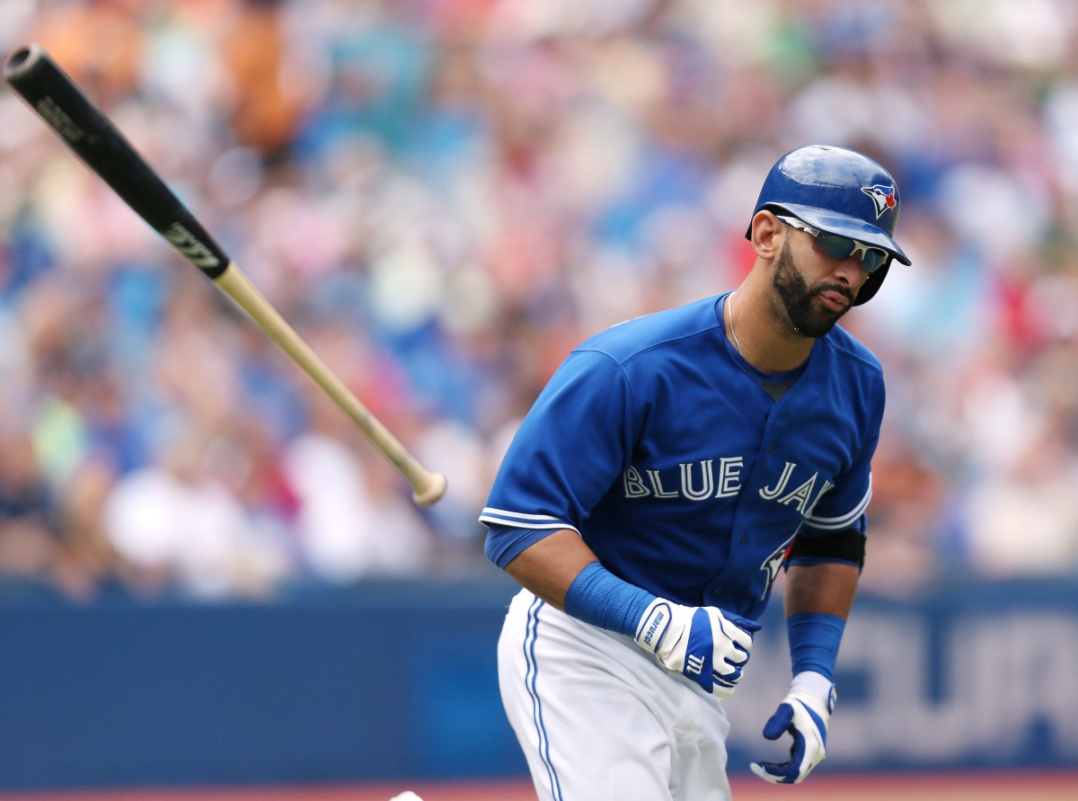 the Toronto Blue Jays lose to the Oakland Athletics 5-1