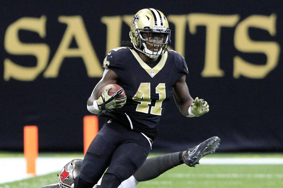 This image has an empty alt attribute; its file name is alvin-kamara-leads-new-orleans-saints-past-carolina-panthers.jpg