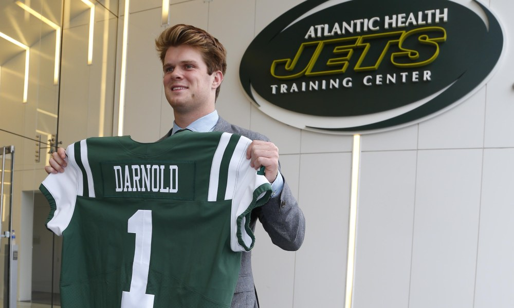 NFL: New York Jets-Sam Darnold Press Conference